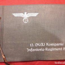 Militaria: ALBUM DE FOTOS EJERCITO ALEMAN 12 COMPAÑIA REGIMIENTO DE INFANTERIA 86. Lote 97310371
