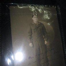 Militaria: II GUERRA MUNDIAL SOLDADO CUBANO AMERICANO MANUSCRITO FIRMADA DESDE JAPON 1945. Lote 97432679