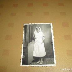 Militaria: FOTO ENFERMERA GUERRA CIVIL SEVILLA 1937. Lote 97457575