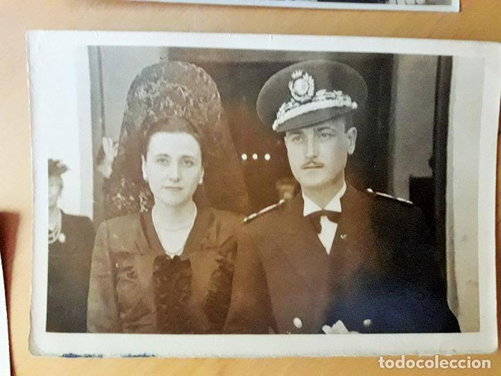 Militaria: Coronel en una boda y otro uniforme a identificar-Quirós- Madrid 1947 - Foto 3 - 97708623