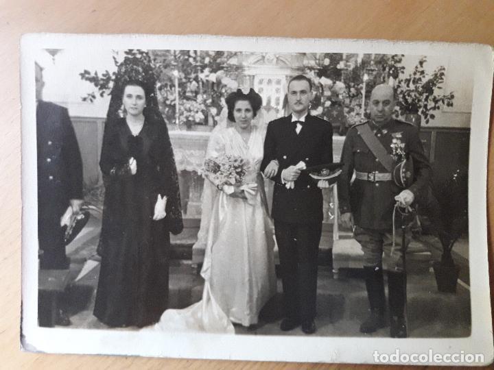 Militaria: Coronel en una boda y otro uniforme a identificar-Quirós- Madrid 1947 - Foto 4 - 97708623
