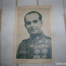 Militaria: FOTO POSTAL GENERAL VARELA FOTO LUQUER. Lote 97787087