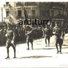 Militaria: TETUAN, 1927. DESFILE ANTE EL GENERAL SANJURJO. Lote 98042147