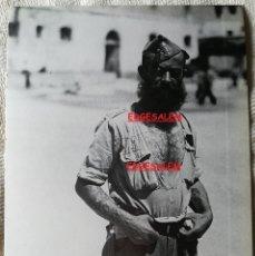 Militaria: CABO LEGION LEGIONARIO , LÁMINA FOTO DE LA GUERRA CIVIL , ALBARRACIN . 31X21 CM. Lote 151573845