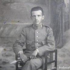 Militaria: FOTOGRAFÍA CARABINERO. ALFONSO XIII. Lote 98082619