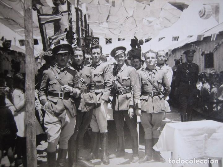 FOTOGRAFÍA SARGENTOS DEL EJÉRCITO NACIONAL. 1937 (Militar - Fotografía Militar - Guerra Civil Española)