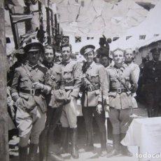 Militaria: FOTOGRAFÍA SARGENTOS DEL EJÉRCITO NACIONAL. 1937. Lote 98084007