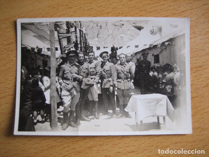 Militaria: Fotografía sargentos del ejército nacional. 1937 - Foto 2 - 98084007