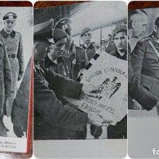 Militaria: AGENDA PARA EL AÑO 1943, CON MUCHAS FOTOGRAFÍAS DE LA DIVISIÓN AZUL, EJÉRCITO ALEMÁN, II GUERRA MUND. Lote 98117979