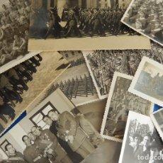 Militaria: LOTE DE FOTOGRAFÍAS. OFICIAL EJÉRCITO. POSIBLEMENTE DE INTENDENCIA.. Lote 98128839