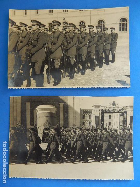 Militaria: Lote de fotografías. Oficial Ejército. Posiblemente de Intendencia. - Foto 2 - 98128839