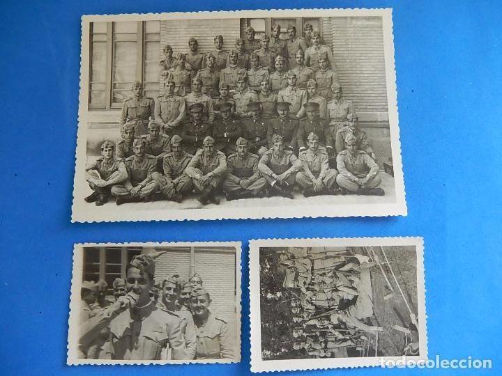 Militaria: Lote de fotografías. Oficial Ejército. Posiblemente de Intendencia. - Foto 3 - 98128839