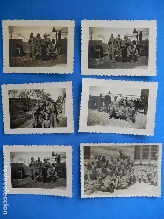 Militaria: Lote de fotografías. Oficial Ejército. Posiblemente de Intendencia. - Foto 4 - 98128839