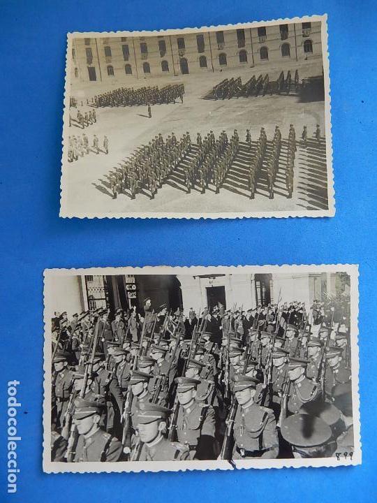 Militaria: Lote de fotografías. Oficial Ejército. Posiblemente de Intendencia. - Foto 6 - 98128839