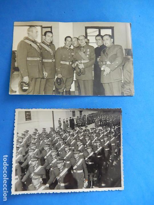 Militaria: Lote de fotografías. Oficial Ejército. Posiblemente de Intendencia. - Foto 8 - 98128839