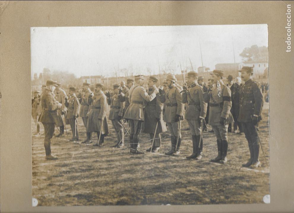 FG-569. FOTOGRAFIA ORIGINAL.REVISIÓN DEL 20 DE ENERO DE 1921 GENERAL DEVILLE, CRUZ DE HONOR. (Militar - Fotografía Militar - II Guerra Mundial)