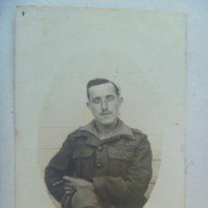 Militaria: GUERRA DE AFRICA : FOTO SOLDADO DE LA LEGION DEDICADA A MADRINA DE GUERRA. 1925.. Lote 98555387