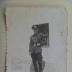 Militaria: GUERRA CIVIL : FOTO DE SOLDADO CONDUCTOR NACIONAL. Lote 98857599
