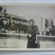Militaria - GUERRA CIVIL : FOTO DE MUJER DE LA SECCION FEMENINA DE FALANGE . SEVILLA, 1937. - 98954971