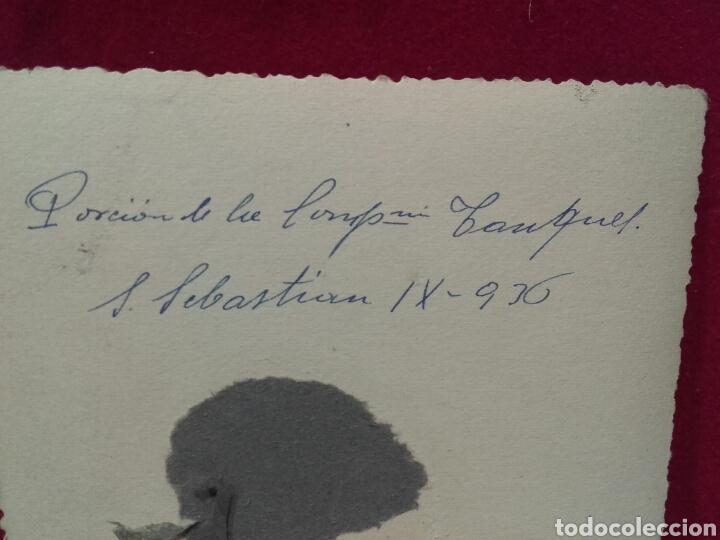 Militaria: GUERRA CIVIL, PORCIÓN DE LA COMPAÑÍA ITALIANA DE TANQUES EN SAN SEBASTIÁN - Foto 2 - 99084364