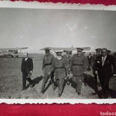 Militaria: GUERRA CIVIL. FOTO INÉDITA. GENERALES MOLA, SALIQUEL, CABANELLAS Y QUEIPO DE LLANO.. Lote 99087338