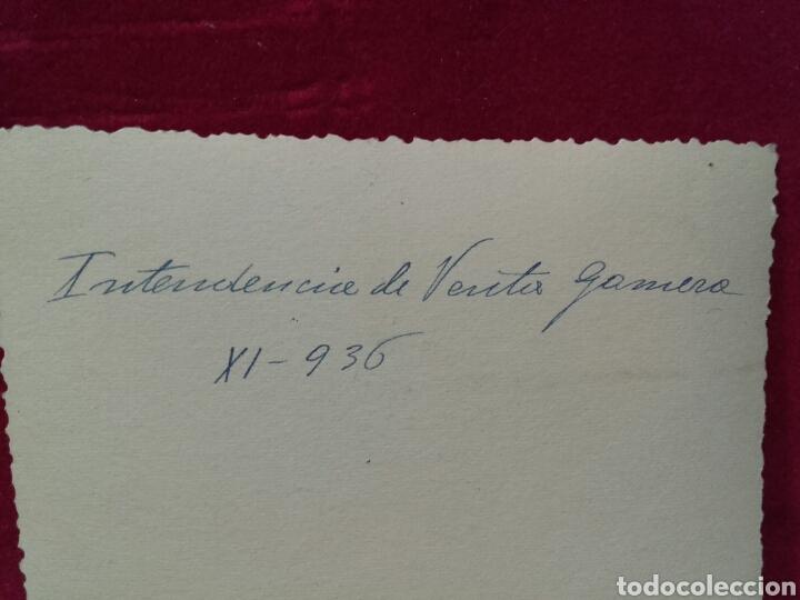 Militaria: GUERRA CIVIL, INTENDENCIA DE VENTA GOMERA NOV. 1936 - Foto 2 - 99138595