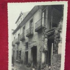 Militaria: GUERRA CIVIL, SIGÜENZA, EFECTOS DE LAS BOMBAS, NOV. 1936. Lote 99163420