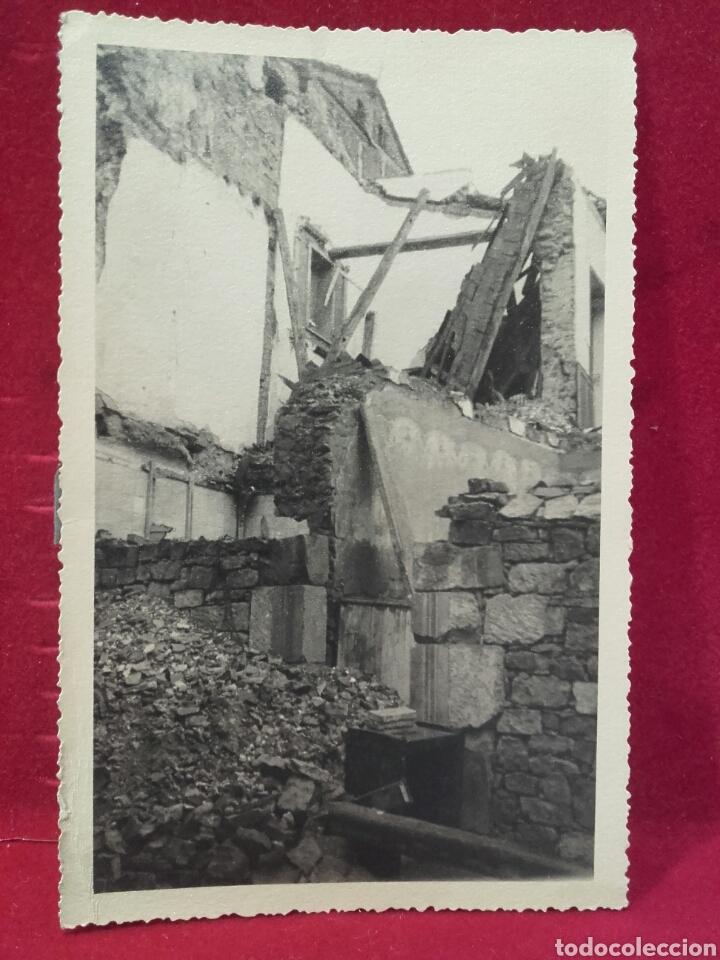 GUERRA CIVIL, EFECTOS DE LA AVIACIÓN, SIGÜENZA NOV. 1936. (Militar - Fotografía Militar - Guerra Civil Española)