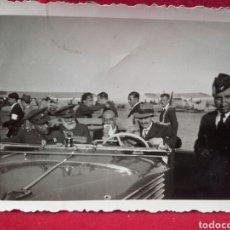 Militaria: GUERRA CIVIL, GENERAL CABANELLAS Y OTROS EN EL AERÓDROMO DE GETAFE. Lote 99170511