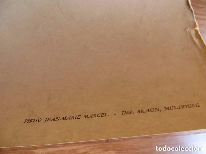 Militaria: RARO GRAN RETRATO OFICIAL DEL GENERAL DE GAULLE COMO PRESIDENTE DE LA REPUBLICA FRANCESA. AÑOS 60. - Foto 9 - 99187215