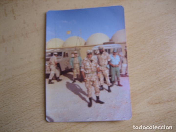 Militaria: Fotografía legionarios. Camuflaje Largato M-73 Sáhara Español - Foto 2 - 99478687