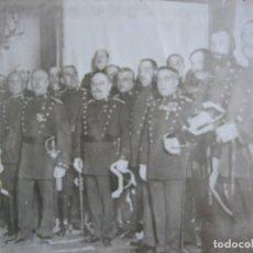 Militaria: FOTOGRAFÍA OFICIALES GUARDIAS CIVILES. ALFONSO XIII. Lote 99905971