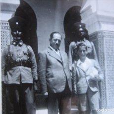 Militaria: FOTOGRAFÍA SOLDADOS GUARDIA JALIFIANA. 1943. Lote 100096919