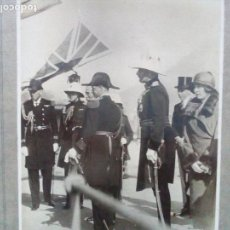 Militaria: ANTIGUA FOTOGRAFÍA DE ACTO CONMEMORATIVO REINO UNIDO.. Lote 100131487