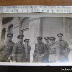 Militaria: FOTOGRAFIA MILITAR - GRUPO DE OFICIALES DE SANIDAD MILITAR. Lote 100355515