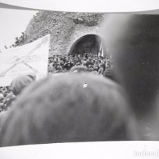 Militaria: CARLISMO FOTO FOTOGRAFIA CONCENTRACION DE CARLISTAS EN MONTEJURRA?. Lote 100392339