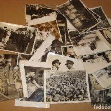 Militaria: LOTE DE 27 FOTOGRAFIAS ORIGINALES DE LA BRITICH OFFICIAL PHOTOGRAPH. SEGUNDA GUERRA MUNDIAL. Lote 176327763