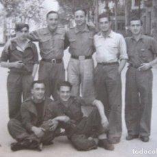 Militaria: FOTOGRAFÍA SOLDADOS DEL EJÉRCITO NACIONAL. BARCELONA 5-1939. Lote 101710463