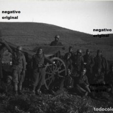 Militaria: NEGATIVO ORIGINAL LEGION CONDOR ARTILLERIA NACIONAL TERUEL GUERRA CIVIL. Lote 101713699