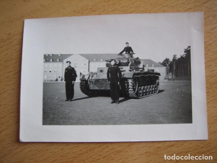 Militaria: Fotografía carristas del ejército alemán. Wehrmacht - Foto 2 - 101717563