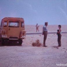 Militaria: FOTOGRAFÍA COMANDANTE LEGIONARIO. SAHARA ESPAÑOL 1973. Lote 101776287