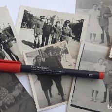 Militaria: DIVISIÓN AZUL. 7 FOTOS DE UN ALFÉREZ DEL IMEC VETERANO DE RUSIA. . Lote 101791307