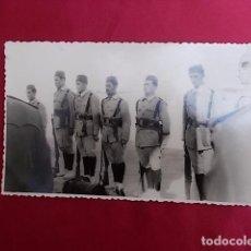 Militaria: ANTIGUA FOTOGRAFIA MILITAR. FOTO GARCIA. MELILLA. 1957.. Lote 102073867
