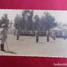 Militaria: ANTIGUA FOTOGRAFIA. MILITAR. FOTO GARCIA. MELILLA. 1956.. Lote 102074179