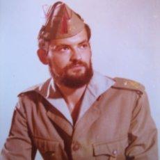 Militaria: FOTOGRAFÍA LEGIONARIO. 1º TERCIO PLANA MAYOR 1980. Lote 102650447
