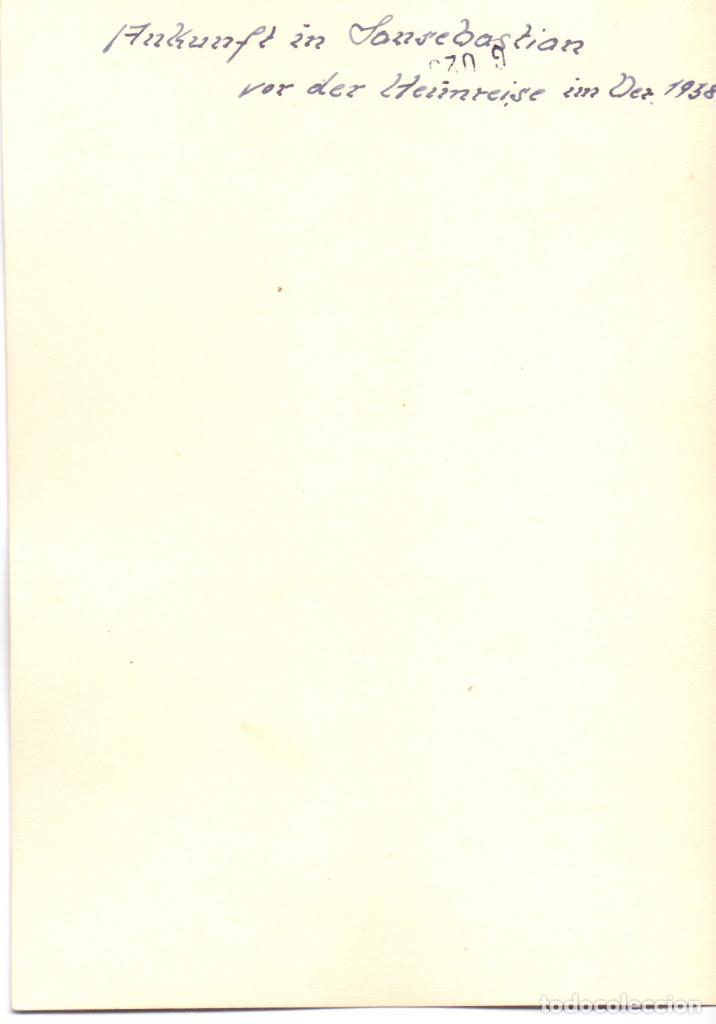 Militaria: SOLDADOS LEGION CONDOR PASEO DE LA CONCHA SAN SEBASTIAN 1938 GUERRA CIVIL - Foto 2 - 189751091