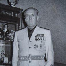 Militaria: FOTOGRAFÍA JERARCA FRANQUISTA.. Lote 102841251