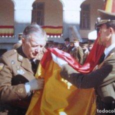 Militaria: FOTOGRAFÍA TENIENTE GENERAL DEL EJÉRCITO ESPAÑOL. VETERANO DIVISIÓN AZUL. Lote 102978303