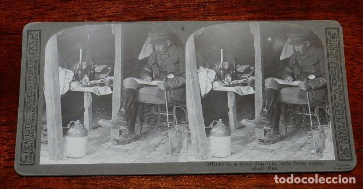 Militaria: 10 Fotografias estereoscopicas de la I Guerra Mundial. Ed. Realistic Travels, London, Num. 1 al 10, - Foto 5 - 103037399