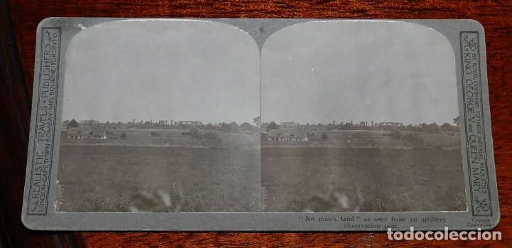 Militaria: 10 Fotografias estereoscopicas de la I Guerra Mundial. Ed. Realistic Travels, London, Num. 1 al 10, - Foto 6 - 103037399